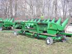 "John Deere 608C 30"" corn heads serial #'s 1H00608CVX74531 Header Wagon Is not included."