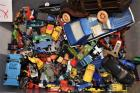 Tub of Hundreds of Matchbox Cars and Trucks