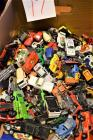 Box of over 50 Matchbox Toys Cars and Trucks
