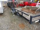 Sure Trac Trailer, 7' x 18', flat bed