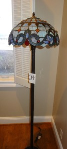 "Tiffany Style Floor Lamp - 68"" tall"