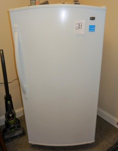 "Maytag Upright Freezer - 5'h x 31""w x 29""d - works good"