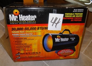 Mr Heater Propane Forced Air heater