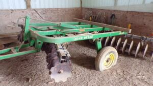 John Deere 620 Disc, 12 foot, Serial # 001839. Click on the phot for additional pictures.
