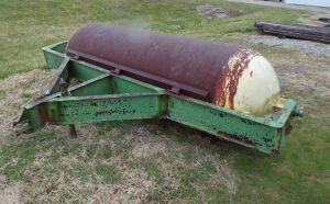 Large heavy duty home made field roller, 10 foot wide.  Click on the photo to see additional pictures.