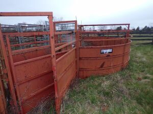 Strong Hold Cattle Tub Sorter, Not the chute or panels. Tub Only!