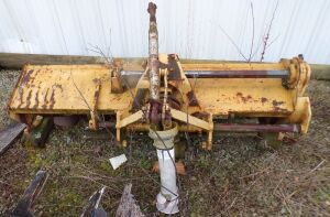 3 Point Hitch Roto Tiller, 5' Italian made, Sicma.  Click on the photo to see additional pictures.