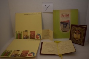 (2) HISTORY OF COKE COMPANY/ (2)INVITATIONS 75 ANNIVERSARY 1976/(1) BOOK OF GRAND OPENING