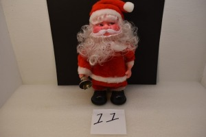 BATTERY POWERED SANTA CLAUS( 10 INCH )