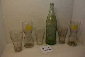 (6) COKE PRODUCTS BOTTLES