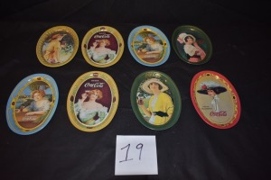 (8) 6 INCH COASTERS
