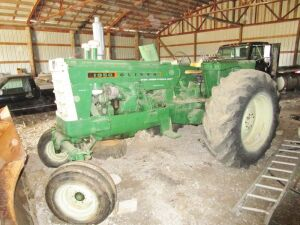 Oliver 1950 Tractor, 4,329 hours. Serial # 161662. Click on the photo to view additional pictures.