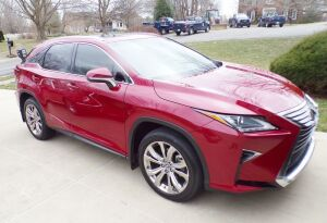 2018 Lexus RX 350,  only 13,020 miles, absolutely sharp as a tack and loaded with options. Serial number 2T2BZMCA1JC161955.