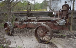 Antique Wagon with pump