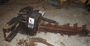 617 Trencher attachment for skid steer.