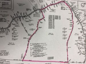 Tract 3 consists of 111.21 Acres Subject to group backs