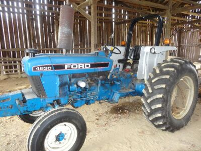 Ford 4630 tractor with 1970 hrs. ser.09nn-7006-DB