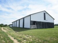 77 acres more or less of level to gently rolling Shelby County land off Mt. Eden Road. The farm is improved with a nice 40 x 110 foot metal barn with an attached 20 x 35 shed. There is also a frame home.  The farm is currently used as a cattle and hay far - 2