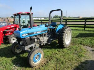 New Holland 4630 with 1610 hours, shuttle shift transmission.