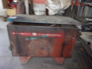 Gray Mills Clean O Matic Parts Washer
