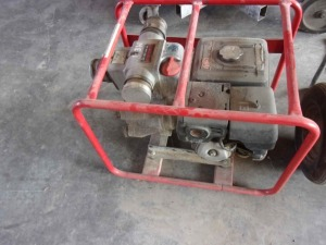 Multiquip Model QP-3th, 3 x 3, SN#3TH-0040 Trash Pump