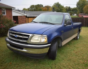 1997 Ford F-150 pick up truck not running 301,000 miles