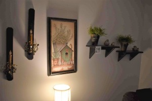 Misc Wall Hanging Décor, Candles, Print, Shelves