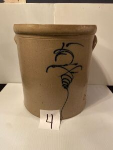 "Stone Bee Sting Crock - 14"" tall x 12 dia."