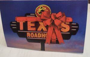 Two $50.00 Texas Roadhouse Gift Certificates