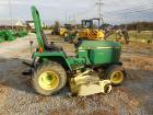 "1989 John Deere 855 compact tractor, 24 HP diesel, 1102 hours,  2WD,  Power steering, 72"" mid-mount mower"