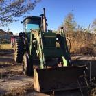 John Deere 4440 tractor with loader. CHA