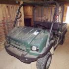 KAWASAKI MULE/2009/MODEL KAS950/1500 HOURS