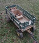TRUE VALUE RADIO FLYER GREEN THUMB WAGON. 17 X 39