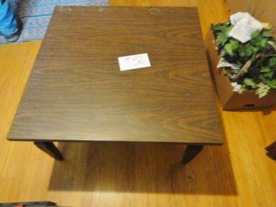 Lot 56 Of 237 Square Coffee Table 16 In Tall 30 X