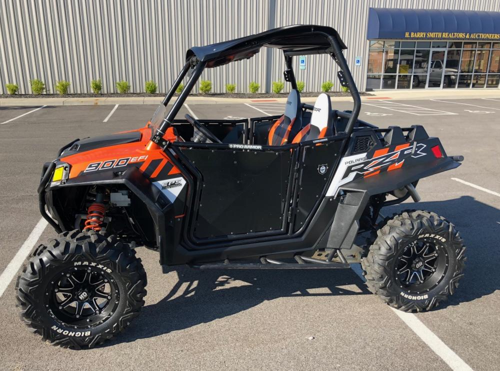Polaris 2014 RZR-900xp Super ATV Lift Kit, Pro Armor Doors, 1,500 Miles