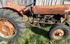 Massey Ferguson 135 tractor,gas, showing 2958 hours, 13.6 -28 rear tires, turned over but not starting as of now.