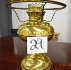 Rayo Brass Coil Lamp, no shade or globe